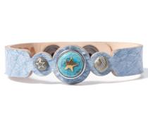 Petite Blue Salmon Armband WPCS-9090-99-M