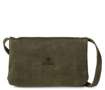 Core Small Hand Buffed Leather Olive Umhängetasche 2610100207003-S