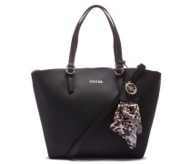 Tulip Black Shopper HWTULI-P7223-BLA