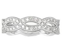 Sterling Silver Ring TR1973-051-14-
