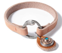Petite Peach Chunk Armband WPMS-9080-91-M