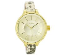 Timepieces Hellgrau Python Uhr C7545