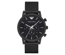 Luigi Chrono Black Uhr AR1968