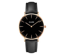 La Boheme Rose Gold Black/Black Uhr CL18001