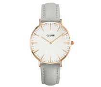 La Boheme Rose Gold White/Grey Uhr CL18015