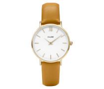 Minuit Gold White/Mustard Uhr CL30034