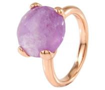 Ring Roségold mit rosa Amethyst WSBZ00013V