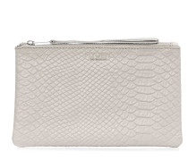 Anaconda Grey Clutch MOM90603096