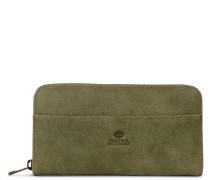 Core Medium Hand Buffed Leather Olive Reißverschluss-Mappe 3220100107003-M