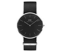 Classic Black Cornwall Uhr DW00100149 ( mm)