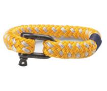 Rum Ron Yellow/Silver Armband P11-30811 (Länge: 15.50-16.00 cm)
