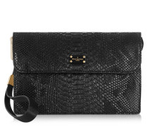Veronica Black Snake Clutch PBN126029