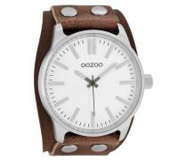 Timepieces Kognak/Weiß Uhr C8281 ( mm)