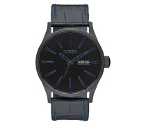 Sentry Leather Black Uhr A1052153