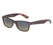 New Wayfarer Sonnenbrille Matte Havana RB2132 894/76