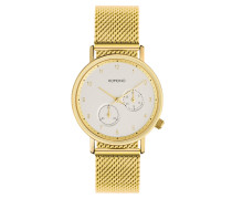 Crafted Walther Gold Mesh Uhr KOM-W23