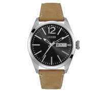 Mens Dress Steel Silver Uhr W0658G7