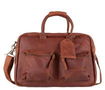 The College Bag Cognac Laptop-Tasche 1380-000300