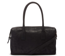 Buffed Leather Black Handtasche 2120100030003-M