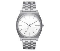 The Time Teller White/Silver Uhr A045100