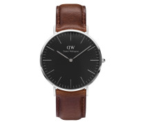 Classic Black Bristol Uhr DW00100131 ( mm)
