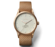 Ivory Lansen Tan Dots Classic Uhr LAST117MD010614