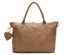 Anjali Dallas Taupe Handtasche und Schultertasche8719323150416