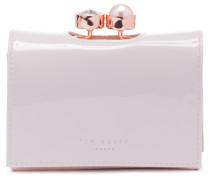Alix Druckknopf Brieftasche Weiß 133158