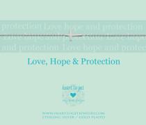 Love, Hope & Protection Armband B25CRO12S