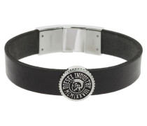 Mens Leather Logo Armband DX0886040