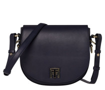 Twist Leather Medium Crossover Tommy Navy Handtasche AW0AW03653413
