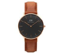 Classic Black Durham Uhr ( MM) DW00100138