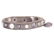 Divali Studs Dark Grey Armband WBS-0138