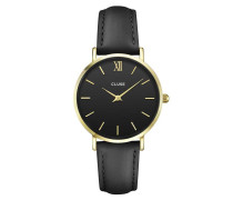 Minuit Gold Black/Black Uhr CL30004
