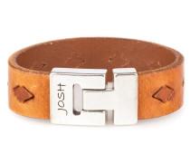 Herren Armband Cognac 24561-BRA-COGNAC-L (22.30 cm)