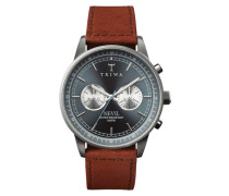 Ash Nevil Chrono Brown Sewn Classic Uhr NEST110