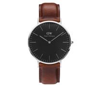 Classic Black St Mawes Uhr ( MM) DW00100130