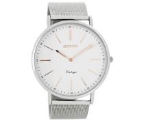 Vintage Uhr Silber C7381