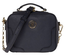 Miss Tommy Micro Trunk Tommy Navy Handtasche AW0AW03675413