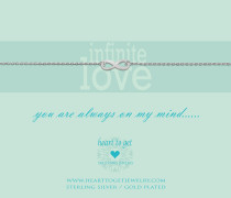 You Are Always On My Mind Armband B87INF12S