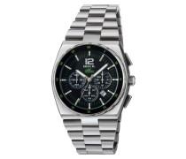 Manta Sport Gent Chrono Bracelet Schwarz Dial Uhr TW1542