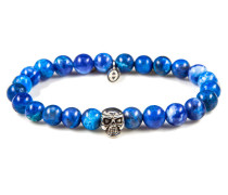 Blue Waters Skull Armband 86004