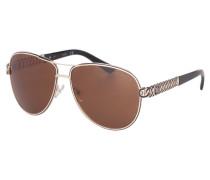 Sonnenbrille Gold GU74045932D