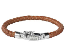 J544CO Ben Leather Cognac Junior Armband