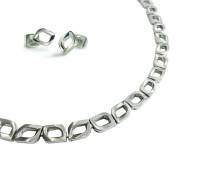 Perfect Giftset Titanium Kette & Ohrringen 9002-0800901-SET