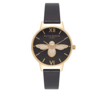 Midi Dial Animal Moulded Bee Uhr OB16AM118