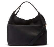 Buffed Leather Black Handtasche 2120100080003-M
