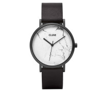 La Roche Full Black/White Marble Uhr CL40002