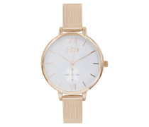 Estelle Rose gold/White Uhr ET-02