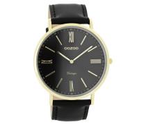 Vintage Uhr Schwarz C7704